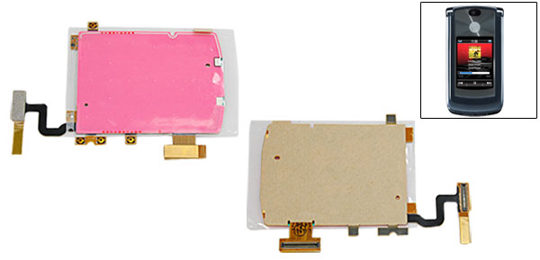 Keyboard Keypad Flex Ribbon Cable for Motorola RAZR2 V8