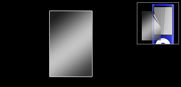 Protective LCD Screen Protector Guard for iPod Nano 5G
