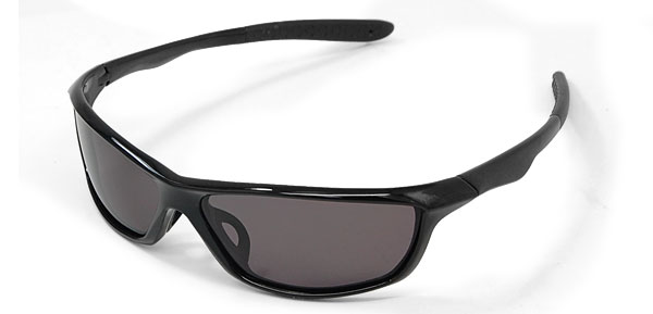 Polarized Sports Driving Sunglasses w. Black Frame Lens