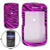 Zebra Print Stylish Plastic Case Cover for Blackberry 9630