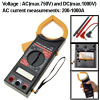 Portable Professional LCD Digital Clamp Meter AMP Tester