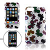 Butterfly Pattern Hard Plastic Case Cover for iPod Touch 2G