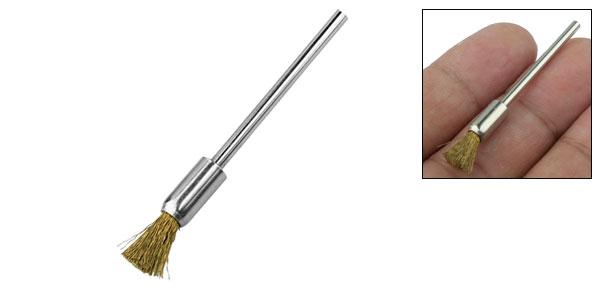 Copper Besom Brush Buffing Polishing Polisher w. Shank