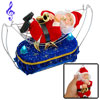 Cool Joyful Xmas New Year Singing Santa Claus Ornament Toy