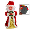 Musical Dancing Lovable Santa Claus Ornament for Xmas 2010 New Ye...
