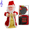 2010 New Year Xmas Funny Musical Dancing Santa Claus Ornament Toy