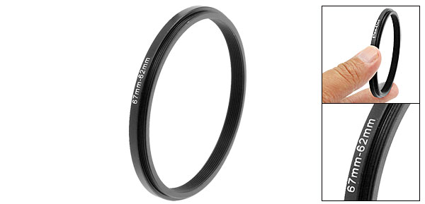 67mm-62mm 67-62mm Camera Step Down Filter Adapter Ring