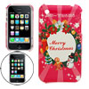 Christmas Theme Hard Plastic Case Cover ...