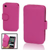 Wallet Style Case Faux Leather Cover for iPhone 3G