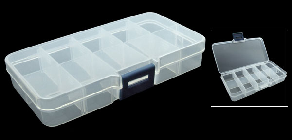 Electronic Components Plastic Storage Box Case
