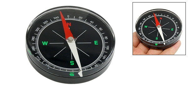 Round Outdoor Activities Sports Portable Compass