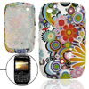 Soft Plastic Colorful Flower Pattern Case Cover for BlackBerry Cu...