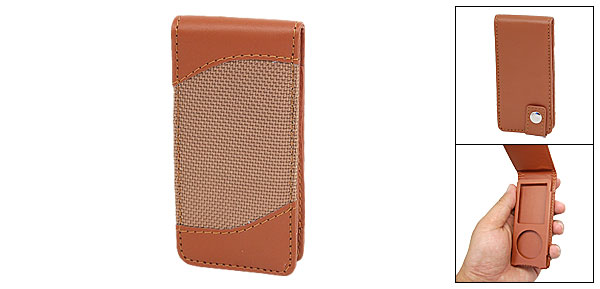 Brown Leather Case for iPod Nano 4th Generation