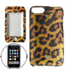 Leopard Print Hard Plastic Case Cover for iPod Touch II