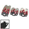 Universal Car Auto Vehicle Non-Slip Pedal Pad Covers Set