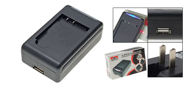 US Plug AC 100-240V Battery Cradle Charger for Sharp SH906 SH-906