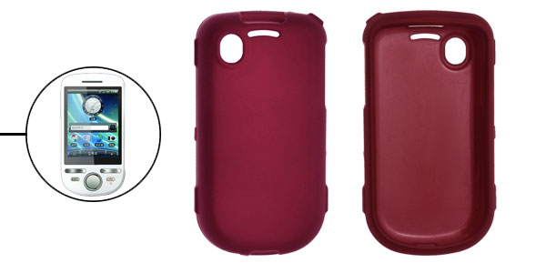 Plastic Rubberized Case for Dopod A3288 Tattoo