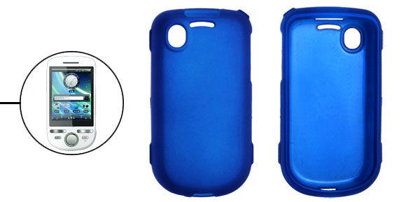 Plastic Rubberized Back Shell for Dopod A3288 Tattoo Blue