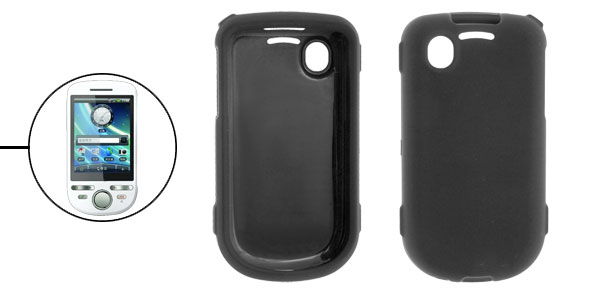 Protective Black Rubberized Case Shield for Dopod A3288