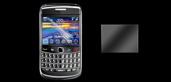 Protective Screen Protector Guard for Blackberry Bold 9700 Transparent
