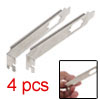 Interior Rear Panel Bracket for PCI Card VGA Port 4pcs