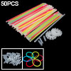 8inch Glow Sticks Bright Light Stick Bracelets 50PCS