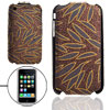 Glittery Plastic Hard Case Pouch for Apple iPhone 3G