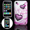 Anti-slip Soft Plastic Protector Cover for iPhone 3G