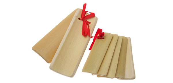 Chinese Bamboo Clapper Instrument Two Set Allegro