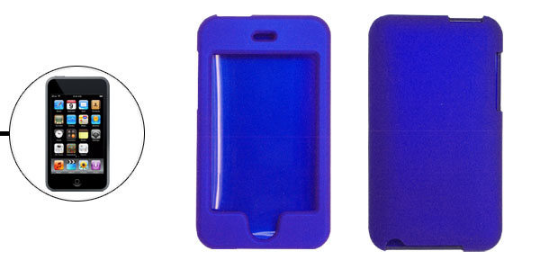 Hard Plastic Case for Apple iPod Touch 2nd Gen Blue