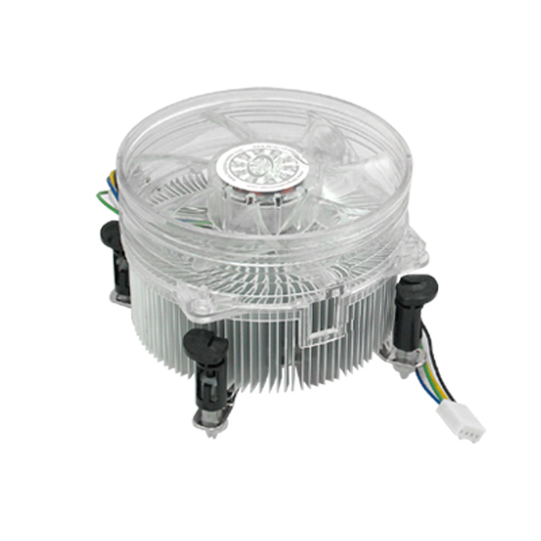 Clear-White-Cooling-Fan-CPU-Cooler-for-Intel-Core2-LGA775
