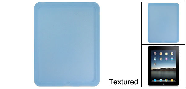 Textured Cornflower Blue Silione Skin for Apple iPad 1