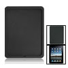 Protector Case Textured Black Back Silicone Skin for iPad 1