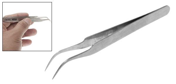 Stainless Steel Jewelry Watchmakers Bent Tweezers