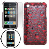 Protective Circulars Back Case Screen Guard for iPhone 3G