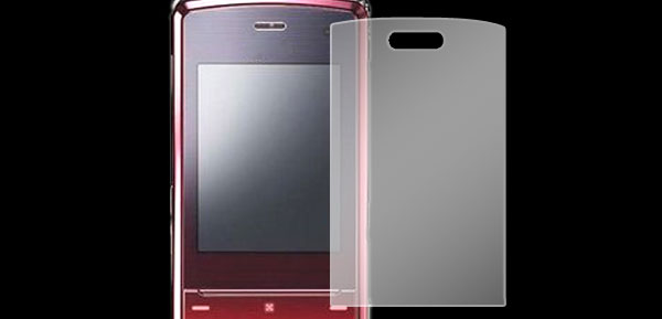 Fit LG KF510 Mobile LCD Screen Clear Guard Film