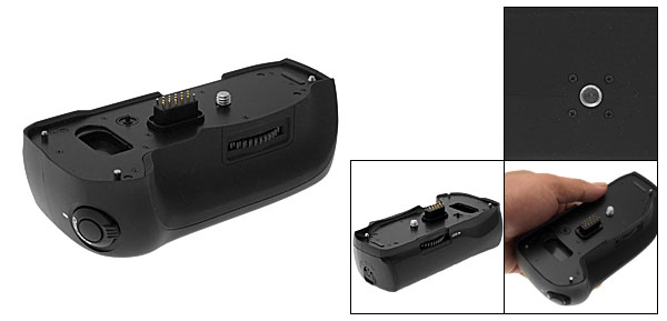 Black Digital Camera Battery Grip for Pentax K10D K20D