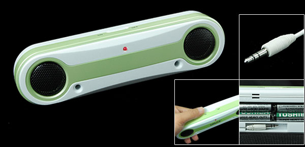 Mini Louder Speaker Audio Voice Box for MP3 MP4 DC 6V