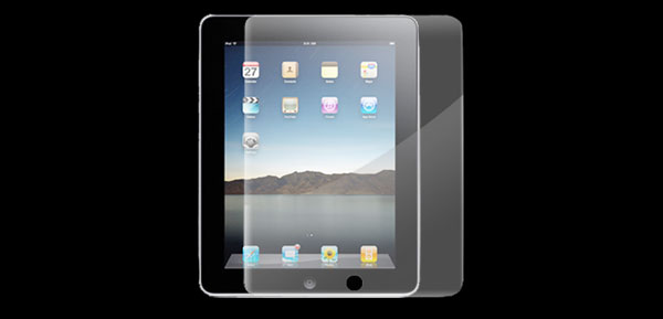 Clear Screen LCD Protector Guard for Apple iPad 1