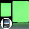 Light Green Smooth Silicone Skin Back Case Cover for Apple iPad 1