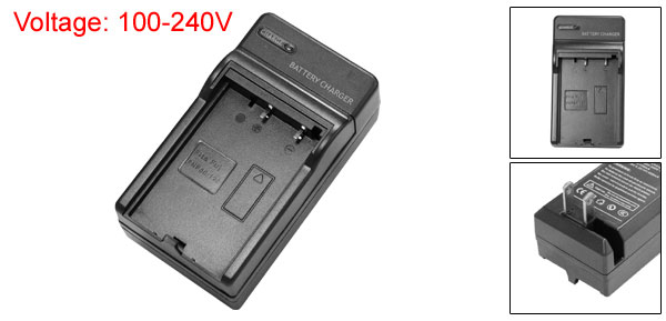 US Plug AC 100V-240V Camera Battery Travel Cradle Charger for Fuji DV680 DDV-5120