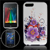 Blooming Floral Soft Plastic Back Case for iPod Touch 2