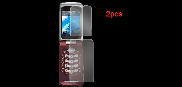 2 Pcs Screen Protector Guard for Blackberry 8200 Clear