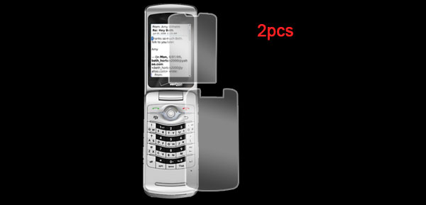 2 Pcs Clear Screen Guard Protector for Blackberry 8230