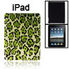 Faux Leather Coated Hard Plastic Leopard Pattern Cover for Apple ...
