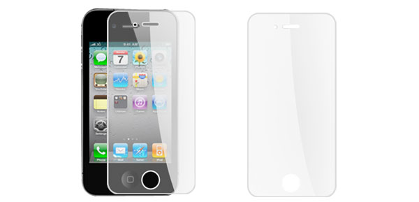 LCD Screen Guard Cover Protector for Apple iPhone 4 Clear