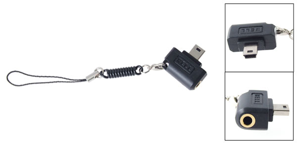 Black 3.5mm Audio Output Adapter for ASUS P320