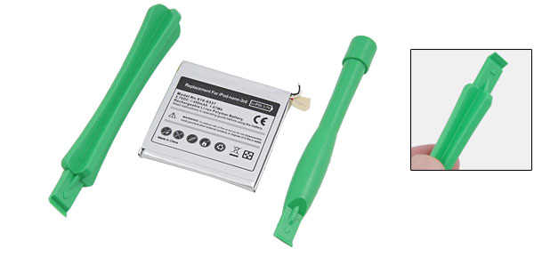 Replacement Rechargeable 3.7V 400mA Li-ion Battery Pack for iPod Nano 3rd Gen