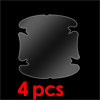 4PCS Clear Guard Protector Film for Car Door Handle Cup