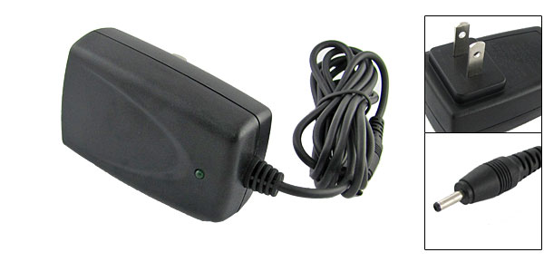 Black Portable Travel Charger AC Adaptor for Motorola T190 T191 C210